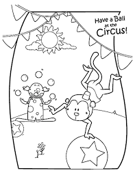 Small Picture Circus Monkeys Coloring Pages Coloring Circus Monkey Coloring