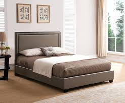 king platform bed frame taupe how to build a size with storage96 with