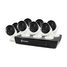 8 Camera <b>8 Channel</b> 5MP Super <b>HD</b> NVR Security System | Swann ...