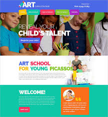 Kids School Website Template 33 School Website Themes Templates Free Premium Templates