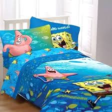 sponge bob toddler beds toddler bed new fish swirl 4 piece bed in a bag with