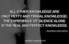 Ramana Maharishi on Pinterest | Shiva, Mind Body Spirit and Quote via Relatably.com