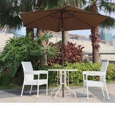 borealis malta 9 foot coffee patio umbrella with vented top tilt crank