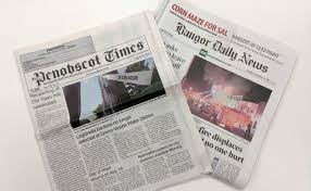 Papers Paper Bdn Acquires Weekly Newspaper Covering Old Town Orono Area