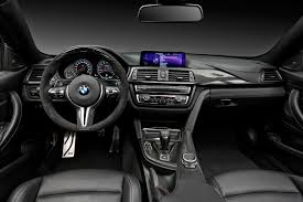 BMW Convertible 2015 bmw m4 white : 2015 BMW M4 with M Performance accessories interior - Indian Autos ...