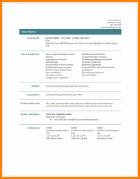 Amazing Cv Template South Africa Resumes Contemporary   Simple     Domainlives