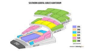 Calgary Southern Alberta Jubilee Auditorium Seating Chart