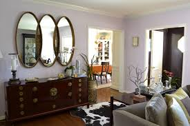 Big Dining Room Living Room Mirror Wall With Large Triple Collage Gold Oval Imanada