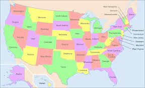 File:Map of USA showing state names.png - Wikimedia Commons