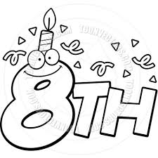 Birthday clipart pages - Clipart Collection | Free birthday clip ...
