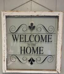 Decorate Old Windows Vintage Single Pane Window Personalized By Vaughncustomcreation