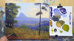 acrylic painting beginners landscape projects