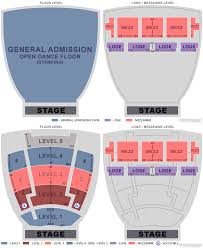 Oakdale Dome Seating Chart Oakdale Theater Detailed Seating Chart 2019