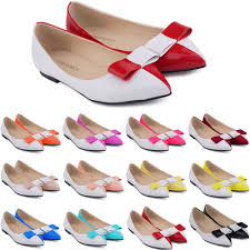 zapatos de mujer las womens faux leather patent flats dolly ballet shoes bow us size flat shoes women 4 11 d0068 prom shoes sperry shoes from shjjvs888