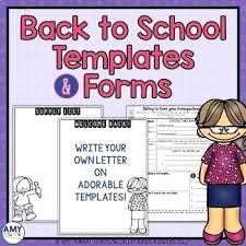 Meet The Teacher Letter Templates Back To School Letter Template