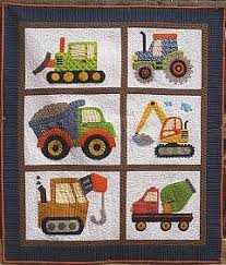 Love Dirt Applique Quilt Pattern (Construction Vehicles) & I Love Dirt Applique Quilt Pattern (Construction Vehicles) Adamdwight.com