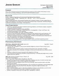 Chemical Engineer Resumes Resume Samples for Job Best Of 24 Chemical Engineer Resume Samples 1