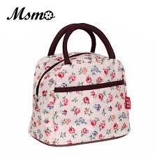 msmo 2017 new hot variety pattern lunch bag lunchbox women handbag waterproof picnic bag lunchbox for kids 22 colors