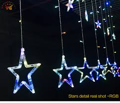 outdoor plastic stars lights string lights dubai plastic star shaped led light