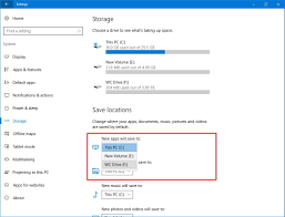 Windows 10 Reinstall Store How To Install Apps On A Separate Drive On Windows 10