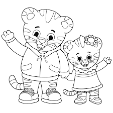 Small Picture Daniel Tiger in Trolley Coloring Pages Printable Get Coloring Pages