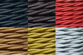 fabric lighting cable 3 core. sentinel 2 core 075mm twisted braided fabric electrical lighting flex cable per metre 3