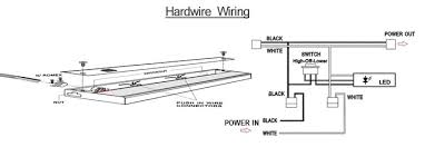 direct hard wire led under cabinet light led hard wire fixture