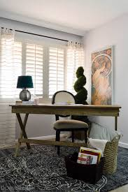 eclectic office furniture. Vintage Eclectic Office Makeover With World Market Furniture K