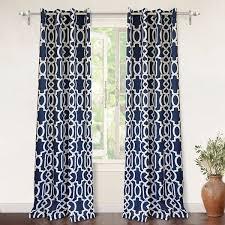driftaway abigail trellis room darkening window curtain panel pair