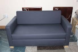 ikea sofa beds ikea ullvi 2 seat sofa bed ransta dark blue navy in old trafford