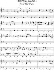 All of our star wars. Imperial March Star Wars Free Piano Sheet Music Pdf