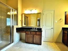 single sink bathroom vanity with makeup table bathroom sink vanity with makeup area single sink bathroom