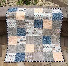 boy quilt nursery bedding