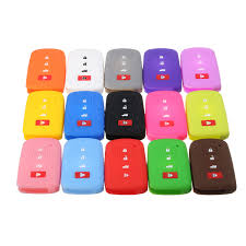 Silicone Remote Key Fob Cover FOR Toyota Highlander Camry Corolla ...