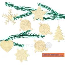 Christbaumschmuck 8er Set Weihnachten Holz Bastelset Kinder Ab 8 Jahren Matches21