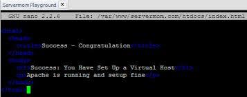 How To Add New Site Into Your Apache-based Ubuntu Server - ServerMom