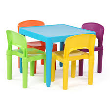 tot tutors playtime piece aqua kids plastic table and chair set tables tot chairs tc