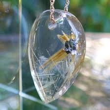 golden rutile star pendant by brian cook rutilated quartz