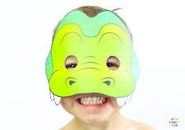 Free printable kids unicorn coloring page. 10 Printable Safari Animal Masks For Kids Arty Crafty Kids