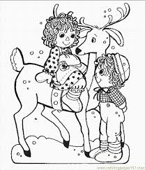 Small Picture Christmas Reindeer Coloring Page Free Christmas Coloring Pages
