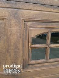 close up faux wood garage door window prodigal pieces prodigalpieces
