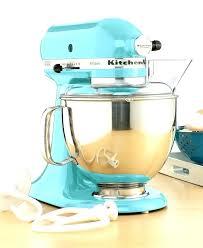 ice blue kitchenaid mixer hand excellent aqua sky vs artisan qt stand blender