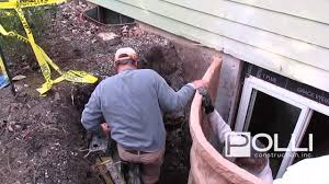 how to install a basement egress window