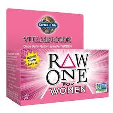 garden of life multivitamin for women vitamin code raw one whole food vitamin supplement with