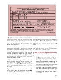 faa form 8130 7 flight manuals and other documents chapter 08