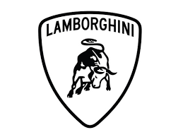 lamborghini logo black and white. Exellent And On Lamborghini Logo Black And White A
