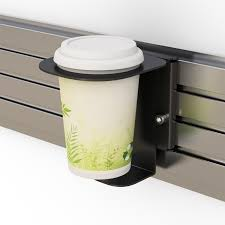 slat wall mounted cup holder