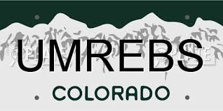 umrebs colorado license plate information