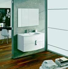 39 Bathroom Vanity Eviva Cali 39 Wall Mount White Modern Bathroom Vanity With White
