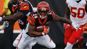 Joe Mixon Depth Chart Jordan Evans Stats News Videos Highlights Pictures Bio